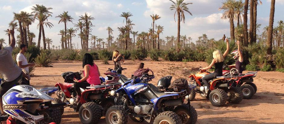 Marrakech quad bike